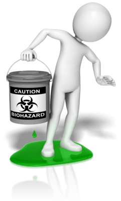contamination biohazard leak