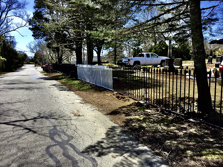 Historic burial ground protected from the dangers of lead Cushing Cemetery Mattapoisett MA
