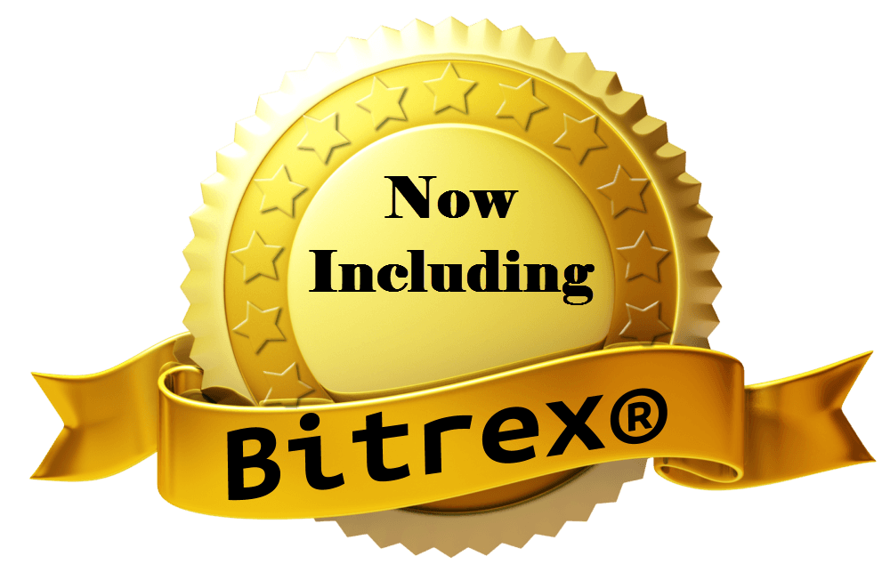 Bitrex gold seal with ribbon 12419