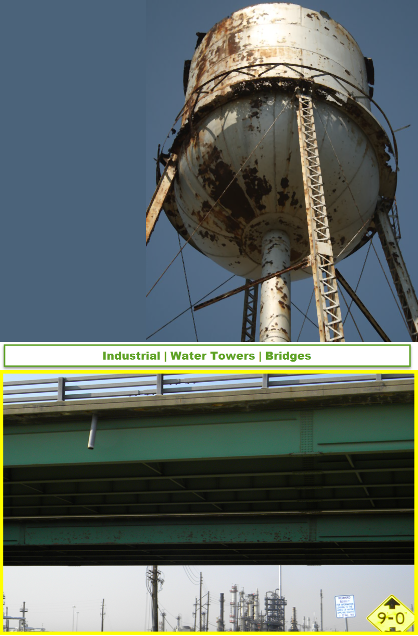 lead paint lead dust removal tall structures tower bridge